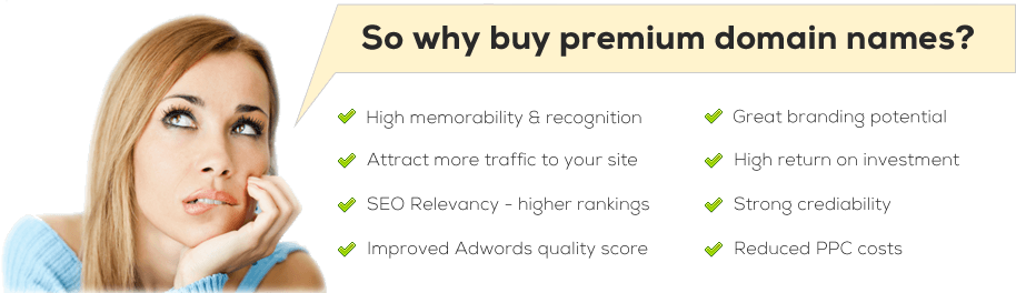 Why Buy Premium Domains?