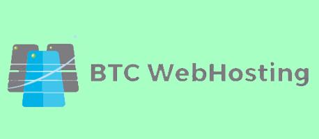 btc webhosting